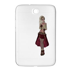 Steampunk Style Girl Wearing Red Dress Samsung Galaxy Note 8 0 N5100 Hardshell Case