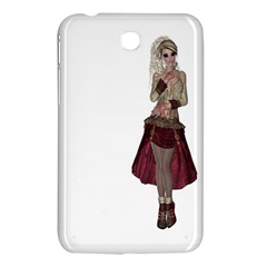 Steampunk Style Girl Wearing Red Dress Samsung Galaxy Tab 3 (7 ) P3200 Hardshell Case