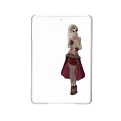 Steampunk Style Girl Wearing Red Dress Apple Ipad Mini 2 Hardshell Case