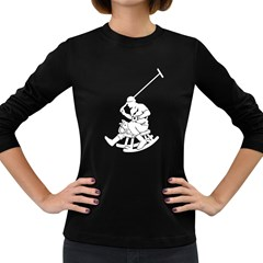 Polow Women s Long Sleeve T Shirt (dark Colored)