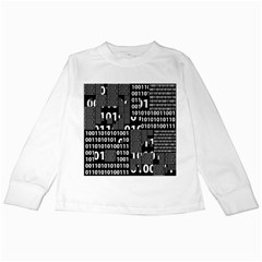 Beauty Of Binary Kids Long Sleeve T Shirt