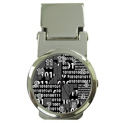 Beauty of Binary Money Clip with Watch
