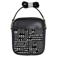 Beauty Of Binary Girl s Sling Bag