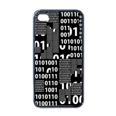 Beauty Of Binary Apple Iphone 4 Case (black)