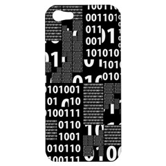 Beauty of Binary Apple iPhone 5 Hardshell Case