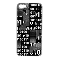 Beauty Of Binary Apple Iphone 5 Case (silver)