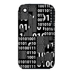 Beauty Of Binary Apple Iphone 3g/3gs Hardshell Case (pc+silicone)