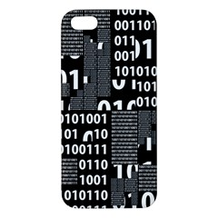 Beauty Of Binary Iphone 5 Premium Hardshell Case