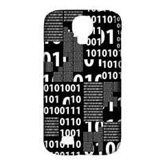 Beauty Of Binary Samsung Galaxy S4 Classic Hardshell Case (pc+silicone)