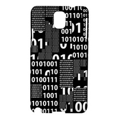 Beauty Of Binary Samsung Galaxy Note 3 N9005 Hardshell Case