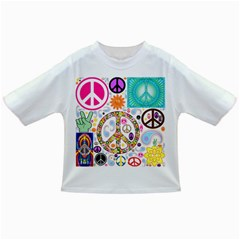 Peace Collage Baby T-shirt