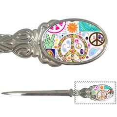 Peace Collage Letter Opener