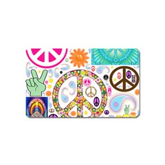 Peace Collage Magnet (Name Card)