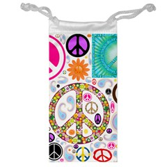 Peace Collage Jewelry Bag