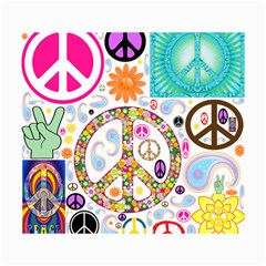 Peace Collage Canvas 18  X 24  (unframed)