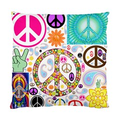 Peace Collage Cushion Case (Single Sided)