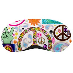 Peace Collage Sleeping Mask