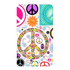 Peace Collage Memory Card Reader (rectangular)