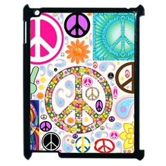 Peace Collage Apple iPad 2 Case (Black)