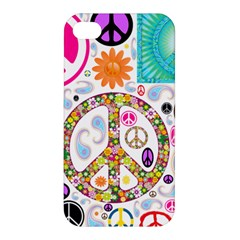 Peace Collage Apple iPhone 4/4S Hardshell Case