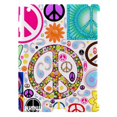 Peace Collage Apple iPad 3/4 Hardshell Case (Compatible with Smart Cover)