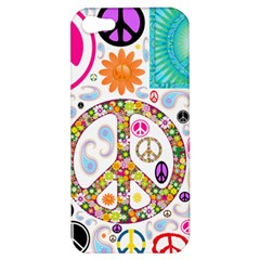Peace Collage Apple Iphone 5 Hardshell Case