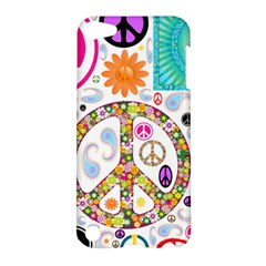 Peace Collage Apple Ipod Touch 5 Hardshell Case