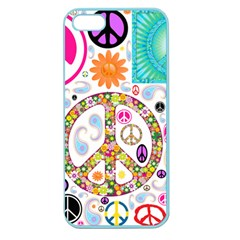 Peace Collage Apple Seamless iPhone 5 Case (Color)