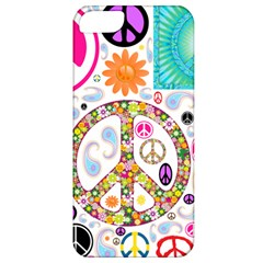 Peace Collage Apple iPhone 5 Classic Hardshell Case