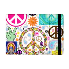 Peace Collage Apple iPad Mini Flip Case