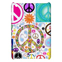 Peace Collage Apple iPad Mini Hardshell Case