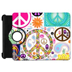 Peace Collage Kindle Fire HD 7  (1st Gen) Flip 360 Case