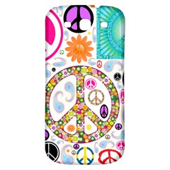 Peace Collage Samsung Galaxy S3 S Iii Classic Hardshell Back Case