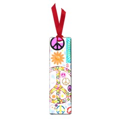 Peace Collage Small Bookmark