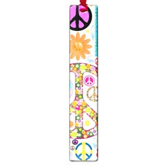 Peace Collage Large Bookmark
