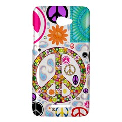 Peace Collage HTC Butterfly (X920e) Hardshell Case