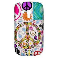 Peace Collage Samsung Galaxy S3 MINI I8190 Hardshell Case