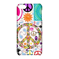 Peace Collage Apple Ipod Touch 5 Hardshell Case With Stand