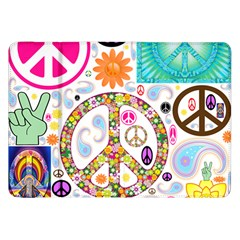 Peace Collage Samsung Galaxy Tab 8 9  P7300 Flip Case
