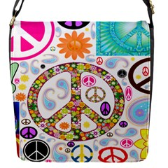 Peace Collage Removable Flap Cover (Small)
