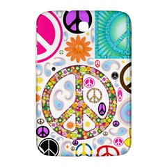 Peace Collage Samsung Galaxy Note 8.0 N5100 Hardshell Case