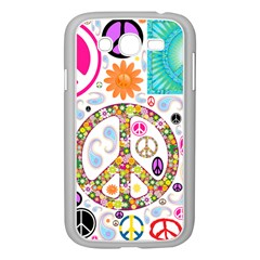 Peace Collage Samsung Galaxy Grand DUOS I9082 Case (White)