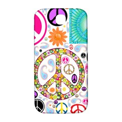 Peace Collage Samsung Galaxy S4 I9500/I9505  Hardshell Back Case