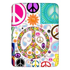 Peace Collage Samsung Galaxy Tab 3 (10 1 ) P5200 Hardshell Case