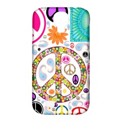 Peace Collage Samsung Galaxy S4 Classic Hardshell Case (PC+Silicone)