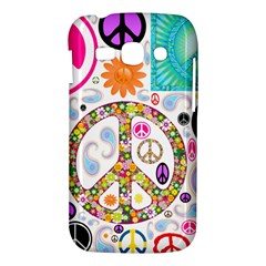 Peace Collage Samsung Galaxy Ace 3 S7272 Hardshell Case