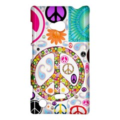 Peace Collage Nokia Lumia 720 Hardshell Case