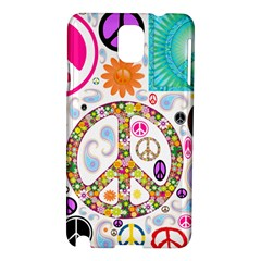 Peace Collage Samsung Galaxy Note 3 N9005 Hardshell Case