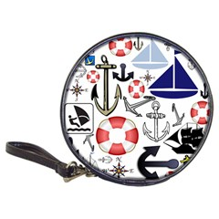 Nautical Collage Cd Wallet