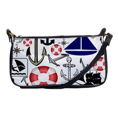 Nautical Collage Evening Bag